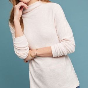 Anthropologie eri + ali Holdrege Mock neck top